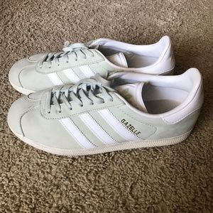 adidas Shoes - Adidas Mint Green Gazelle Sneakers